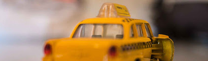 a toy taxi