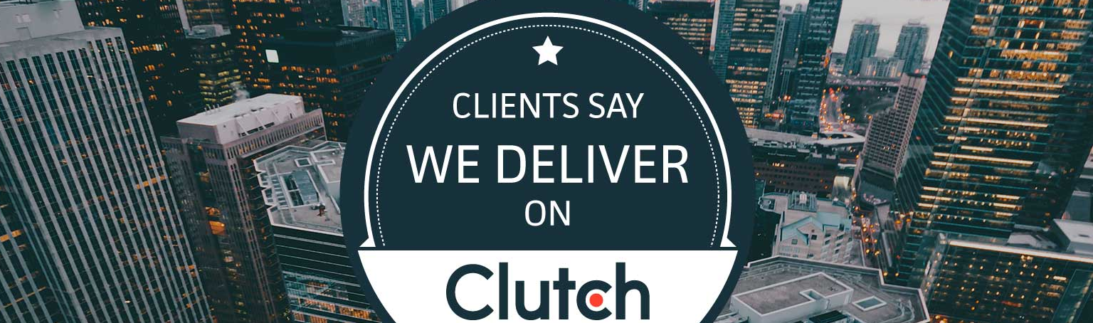 tall buildings and clutch logo
