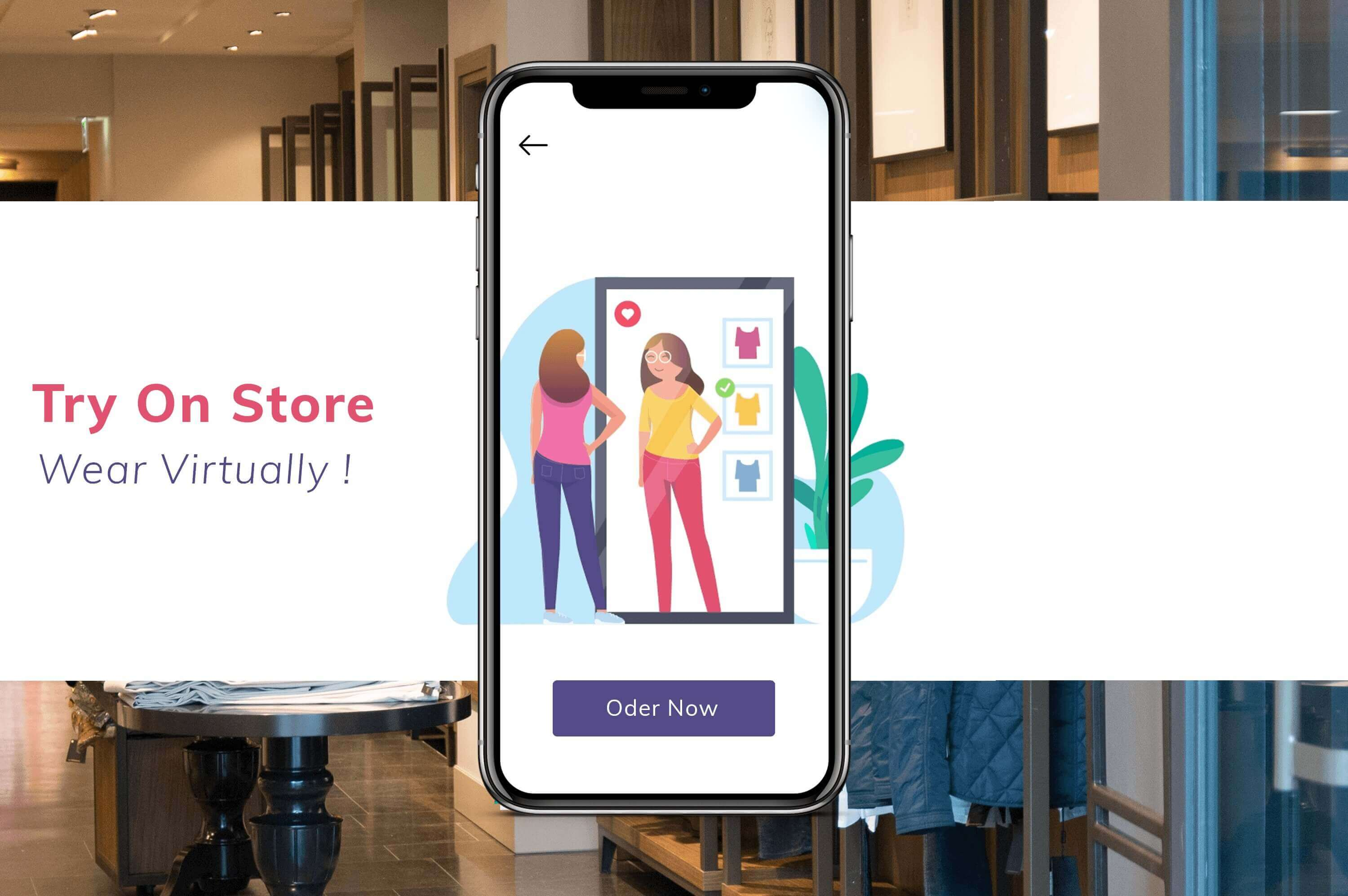 The try on store