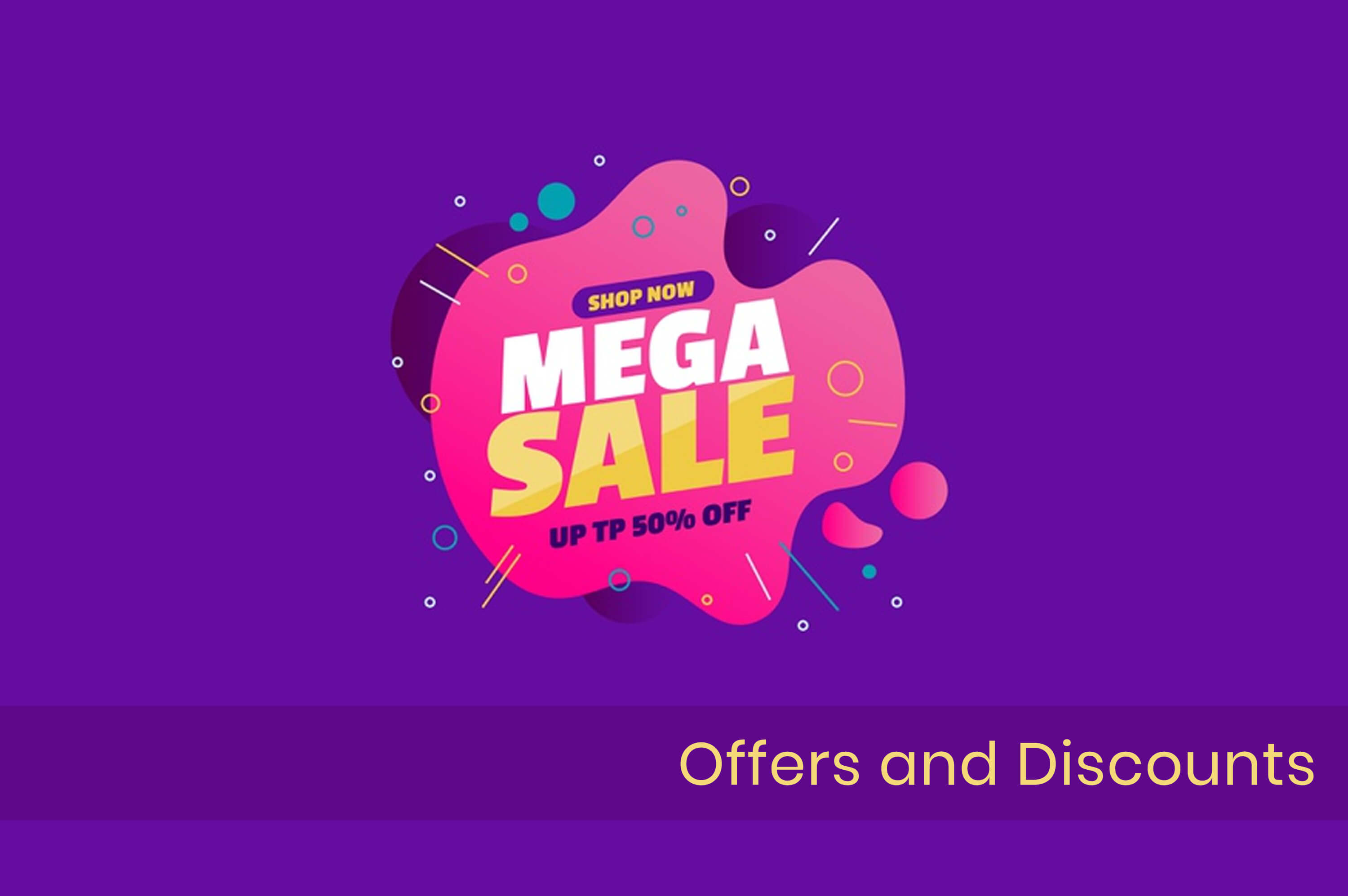 poster of discount sale