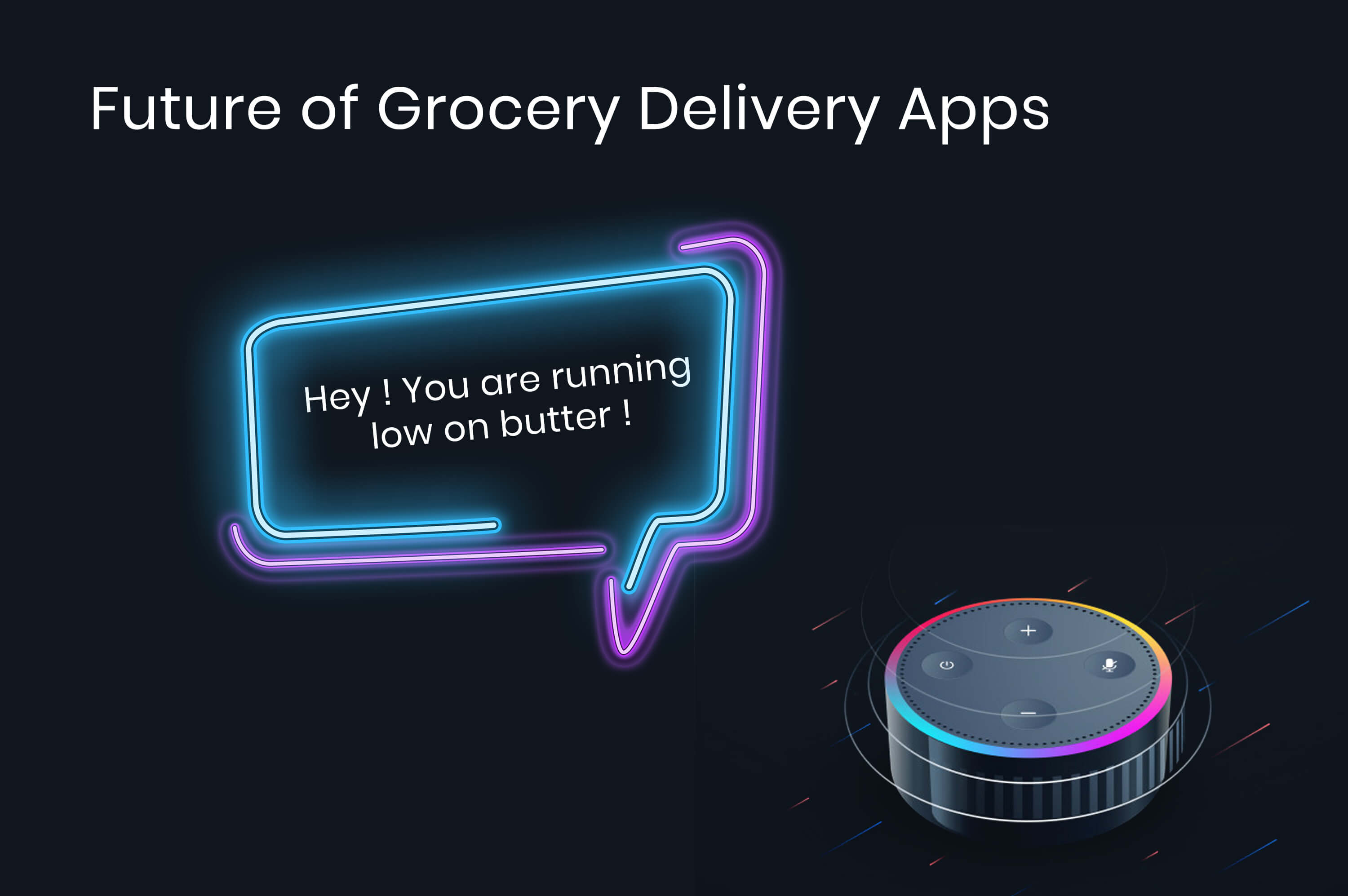 amazon alexa replying that butter is out of stock at home