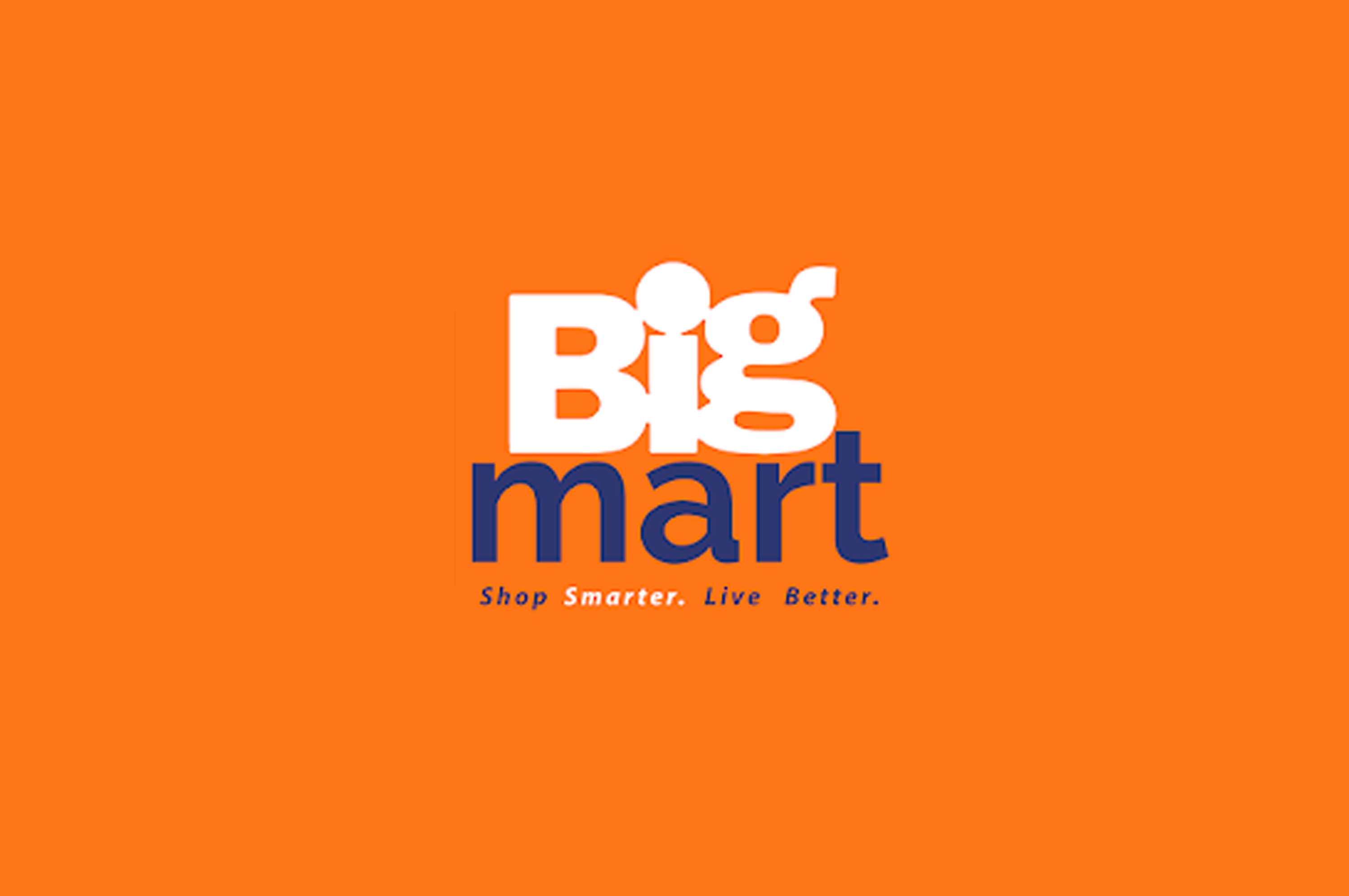 logo of big mart grocery app