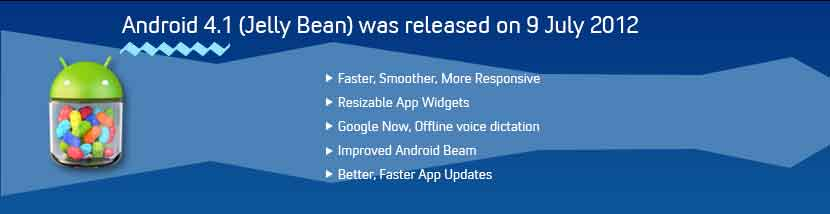 android jelly bean features