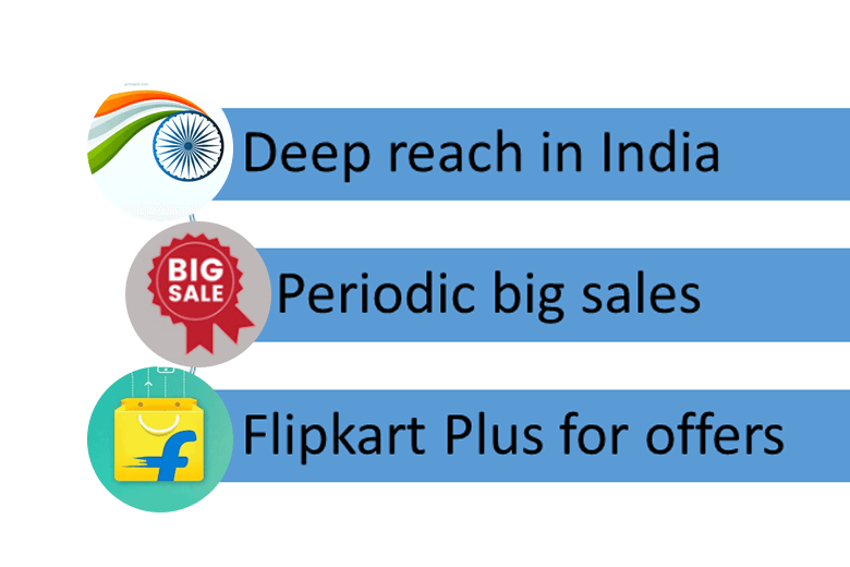 flipkart mobile app features