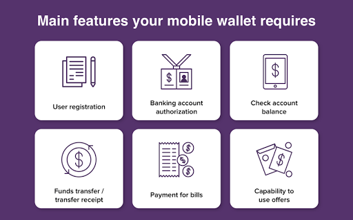 mobile wallet features