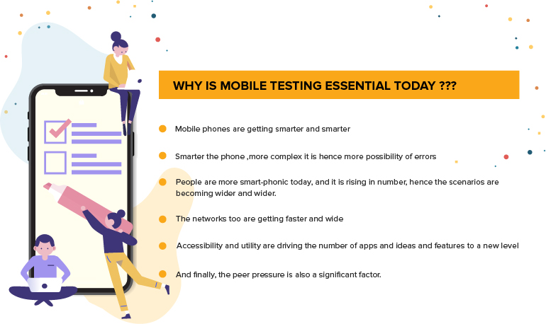 mobile app testing informations