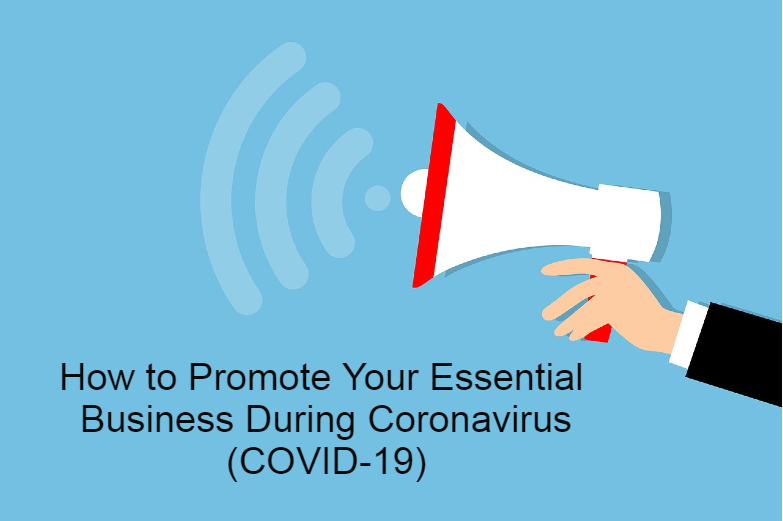 promote essential business during coronavirus